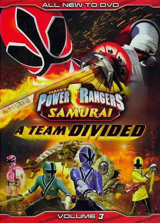 POWER RANGERS SAMURAI:TEAM DIVIDED V3 BY POWER RANGERS (DVD)
